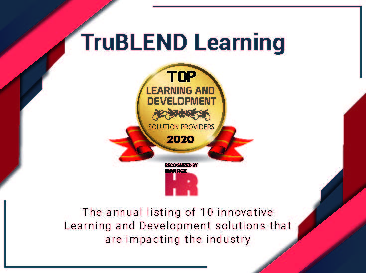 TruBLEND Learning Certificate